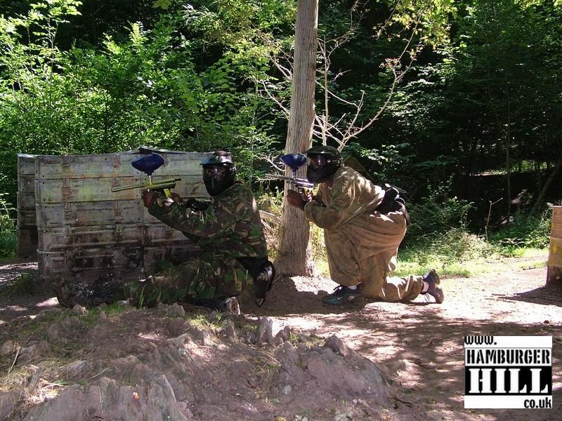 A Paintball Game at Hamburger Hill